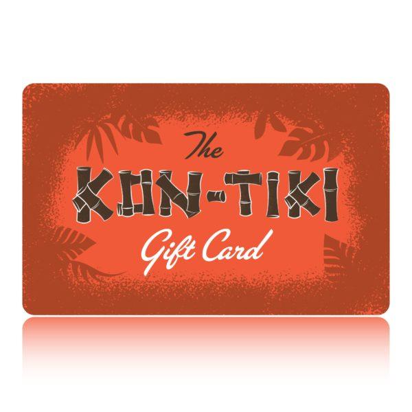 gift card to the kon-tiki